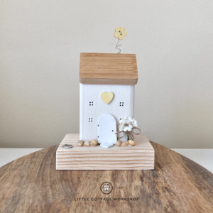 White and Yellow Pebbles Cottage